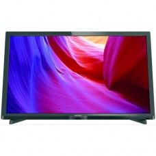 """Philips 24"""" LED, DVB-T/C, HDMI, Scart, USB  БЕЗПЛАТНА ДОСТАВКА"""