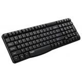 RAPOO E1050 Безжична клавиатура, черна