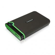 """Безплатна доставка Твърд диск Transcend StoreJet 25M3 USB 3.0 2.5"""" 2TB (SATA), Rubber Case, Anti-Shock, Iron Gray"""